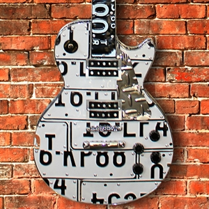 Picture of White Les Paul