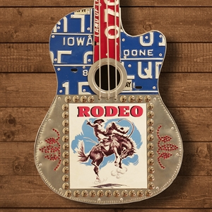 Picture of Red and Blue Rodeo