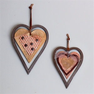 Picture of Rocky Mountain Hearts - set of 2