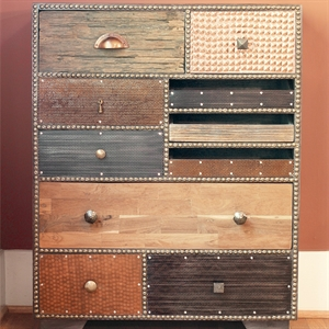 Picture of Hand-Riveted Chest of Drawers